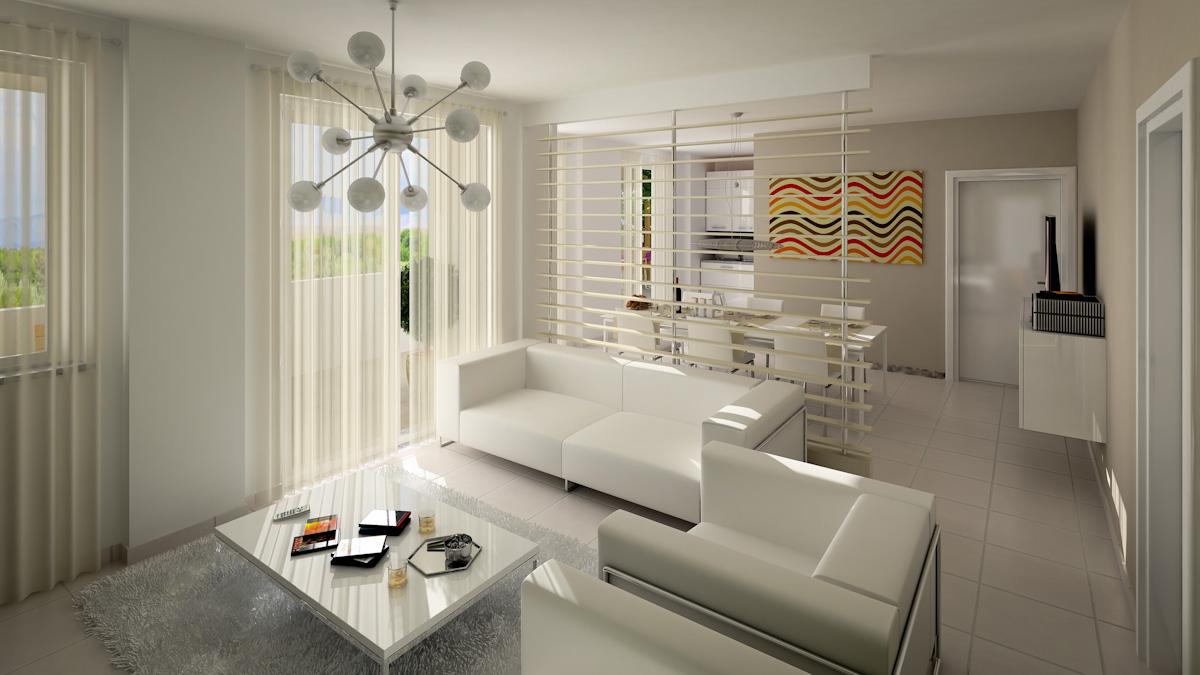 Rendering architettonici di interni archivi pagina 2 di for Interni di appartamenti
