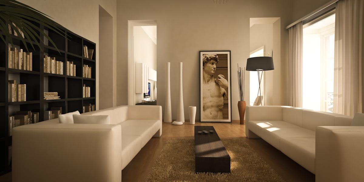 Rendering interni fotorealistici per architettura
