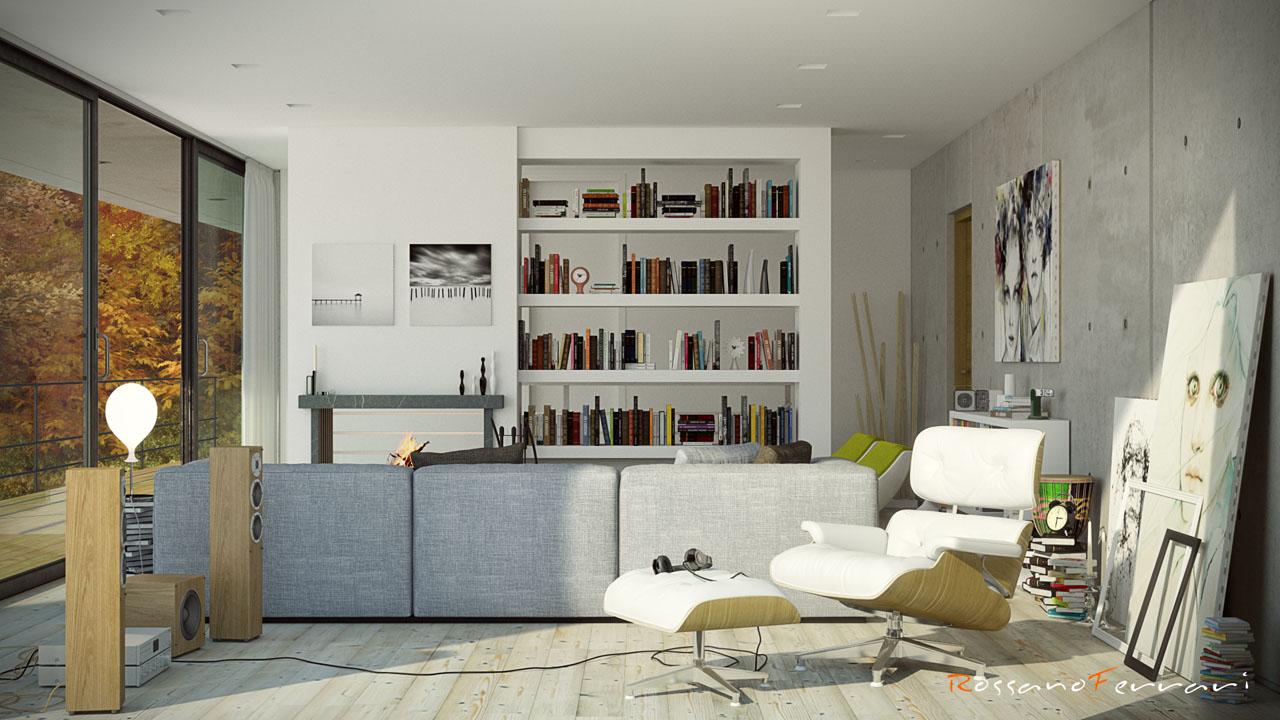 Best Rendering Soggiorno Ideas - Idee Arredamento Casa - hirepro.us