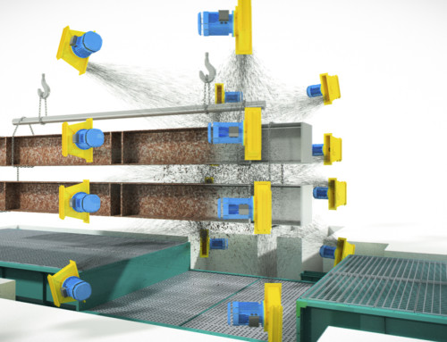 Immagini 3D sabbiatrice