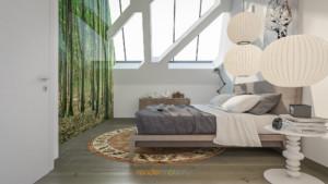 rendering interni loft
