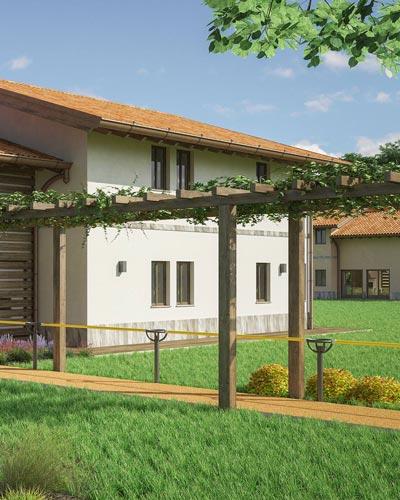 Rendering Villaggio Alzaimer